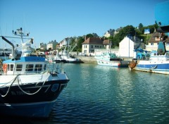Fonds d'cran Bateaux Port en Bessin