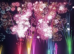 Fonds d'�cran Hommes - Ev�nements Feux d'artifice