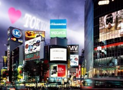 Fonds d'cran Voyages : Asie I love Tokyo