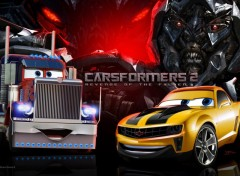 Wallpapers Cartoons Carsformers 2