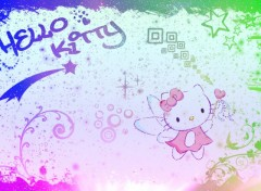 Fonds d'�cran Dessins Anim�s Hello Kitty