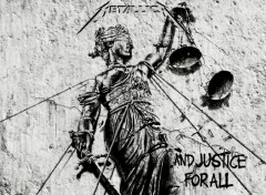 Fonds d'�cran Musique ...And justice for all