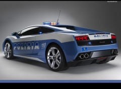 Wallpapers Cars lamborghini POLIZIA 2009