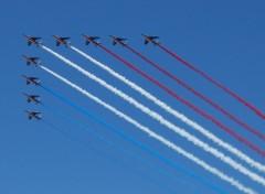 Fonds d'�cran Avions patrouille de france
