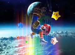 Fonds d'cran Jeux Vido Super Mario Galaxy