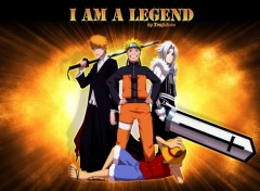 Fonds d'�cran Manga I am a Legend!