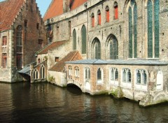 Fonds d'cran Voyages : Europe Les canaux de Bruges