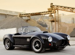 Fonds d'�cran Voitures AC Cobra black