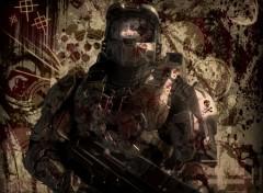 Fonds d'�cran Jeux Vid�o Bloody Halo