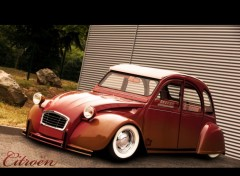Fonds d'�cran Voitures 2 CV custom