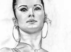 Fonds d'cran Art - Crayon cheryl cole