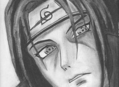 Fonds d'cran Art - Crayon Itachi Uchiha