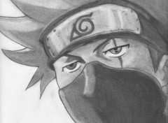 Fonds d'cran Art - Crayon Kakashi Hatake
