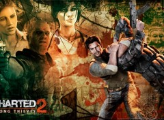 Fonds d'cran Jeux Vido Uncharted 2 : Among Thieves