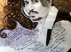 Fonds d'�cran Art - Peinture Johnny Depp #01