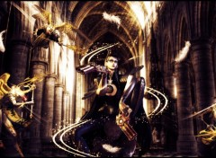 Fonds d'�cran Jeux Vid�o Bayonetta VS Angels