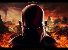 Fonds d'�cran Jeux Vid�o Kratos