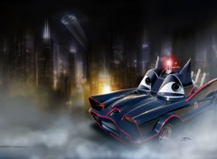 Wallpapers Cartoons Batmobile