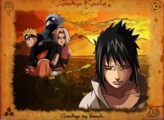 Fonds d'�cran Manga Goodbye Konoha
