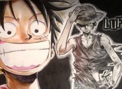 Fonds d'�cran Manga Luffy Heroes