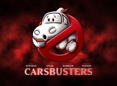 Wallpapers Cartoons Carsbusters - Logo