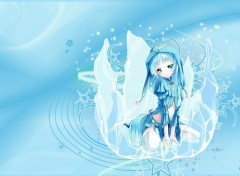 Fonds d'�cran Manga Ice Princess