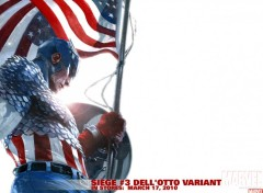 Fonds d'�cran Comics et BDs captain america