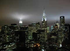 Fonds d'�cran Voyages : Am�rique du nord New-York by night