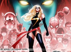 Fonds d'cran Comics et BDs miss marvel