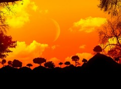 Wallpapers Digital Art Coucher de soleil