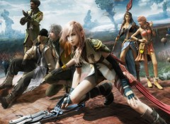Fonds d'�cran Jeux Vid�o Final Fantasy XIII