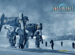 Fonds d'�cran Jeux Vid�o Lost Planet : Extreme Condition