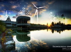 Fonds d'cran Constructions et architecture Energy of the future