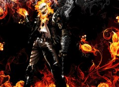 Fonds d'�cran Comics et BDs Ghost Rider