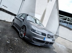 Fonds d'�cran Voitures Seat Leon top sport 1