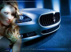Wallpapers Cars pinup car wallpaper maserati by bewall.com