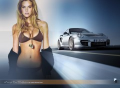 Wallpapers Cars Pin-up car wallpaper by bewall.com
