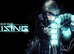 Fonds d'�cran Jeux Vid�o MGS-Rising