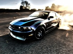 Fonds d'cran Voitures Mustang RTR HDR