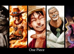 Fonds d'�cran Manga One piece