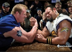 Fonds d'�cran Sports - Loisirs Hockey Fans' Arm Wrestling