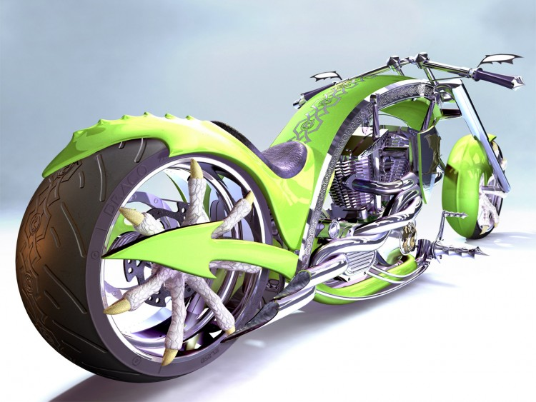 Wallpapers Digital Art > Wallpapers Cars - Transport Chopper ...