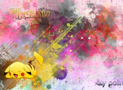 Fonds d'�cran Jeux Vid�o Piachu dream