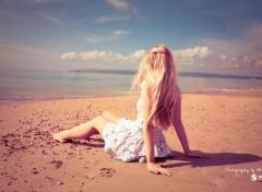 Fonds d'�cran Hommes - Ev�nements La plage