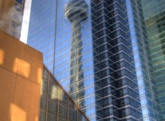 Fonds d'�cran Voyages : Am�rique du nord CN Tower's Reflection