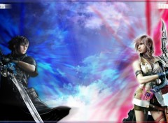 Fonds d'�cran Jeux Vid�o Final Fantasy XIII 2.0