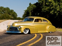 Fonds d'�cran Voitures chevrolet fleetline (1947)