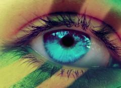 Fonds d'�cran Hommes - Ev�nements Brazil eye