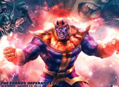 Fonds d'�cran Comics et BDs thanos