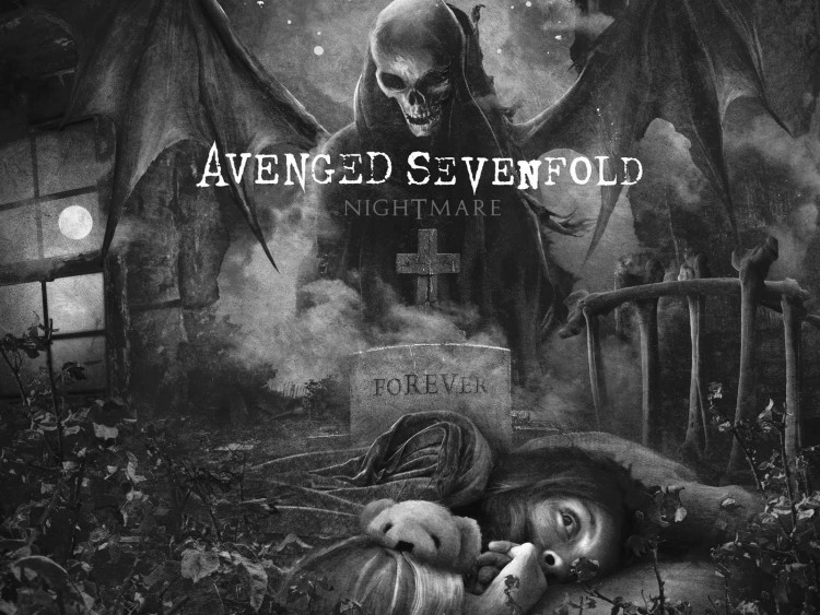 Fonds d'cran Musique Avenged Sevenfold Avenged Sevenfold nightmare 2010